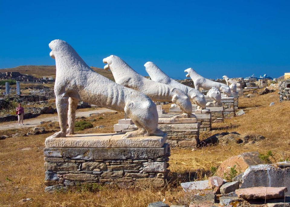 Stone-lions