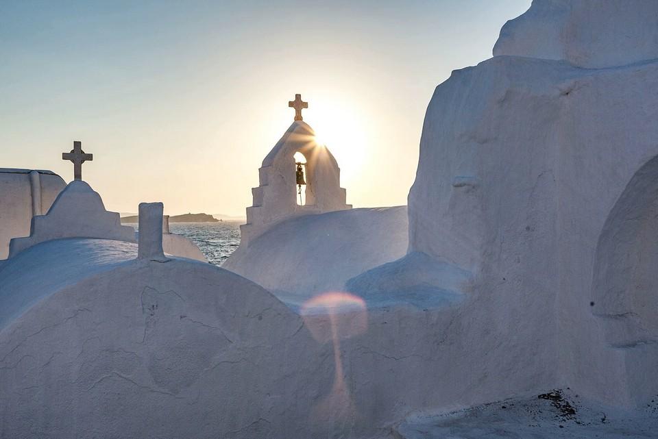 Paraportiani Orthodox Church mykonos