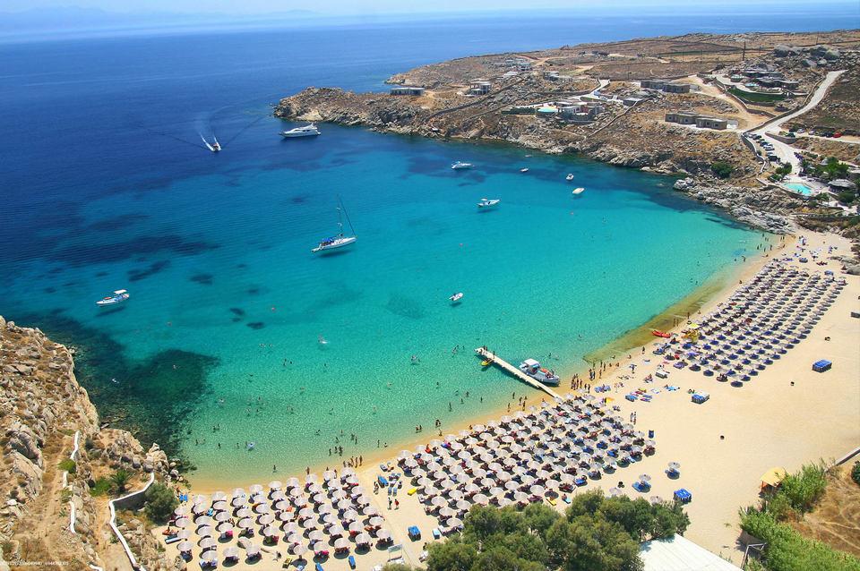 super, super paradise beach mykonos