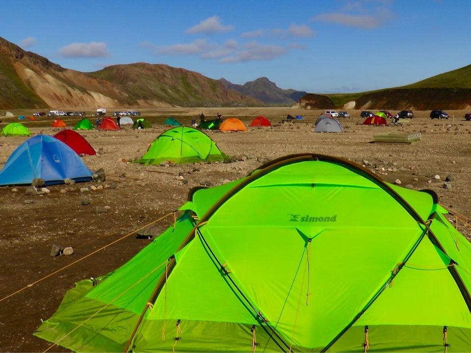 camping landmannalaugar-highland-iceland