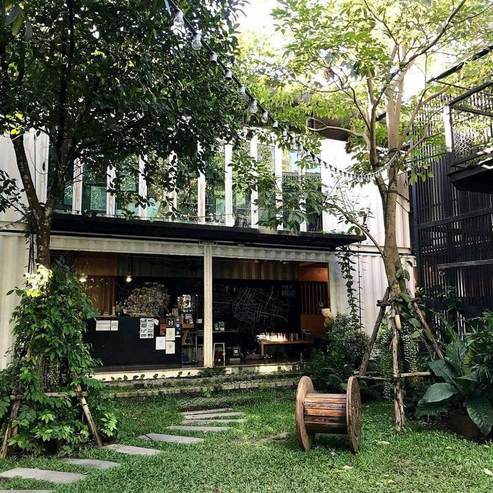 The Yard Hostel, Bangkok, Thailand
