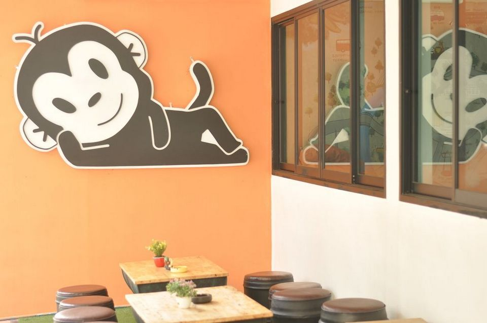 Monkey Nap Hostel, Bangkok, Thailand