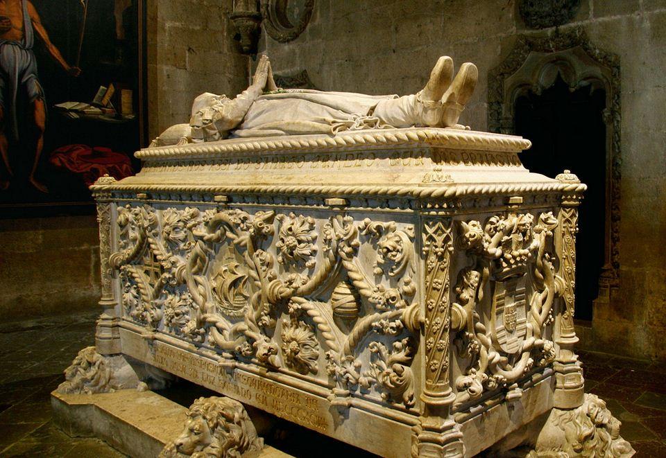 Vasco da Gama grave