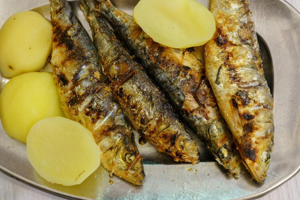 A Merendinha do Arco Grilled Sardines