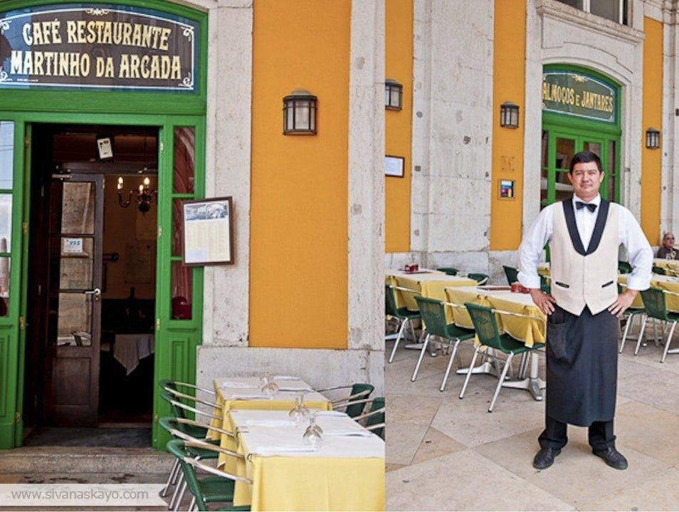 Café Martinho Da Arcada lisboa