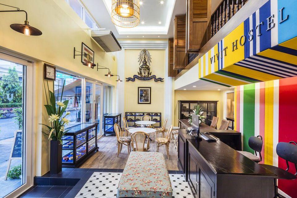 Vivit hostel Bangkok, Thailand
