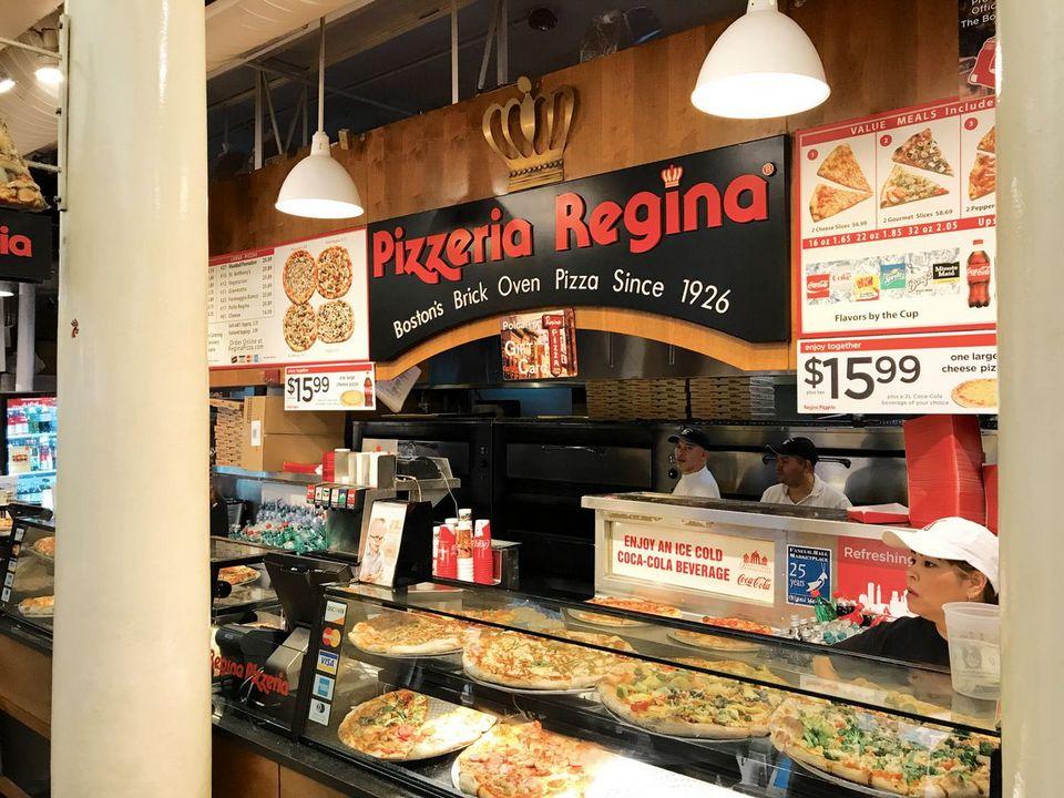 Quincy Market Pizzeria Regina