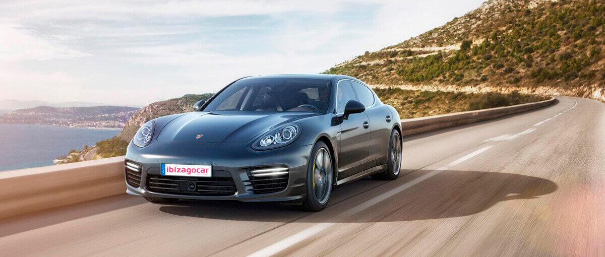 Luxury car rental in Ibiza
