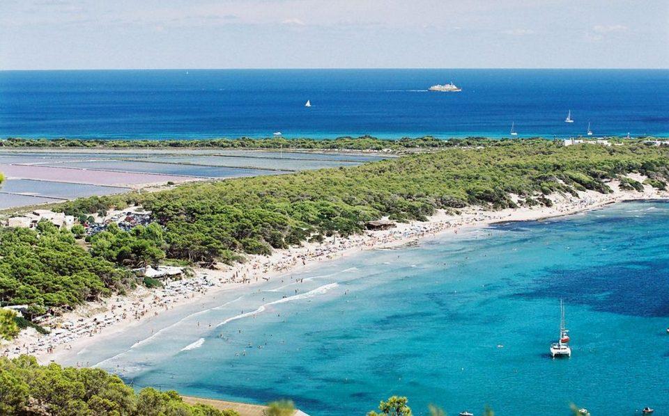 Ses Salines Nature Park in Ibiza,