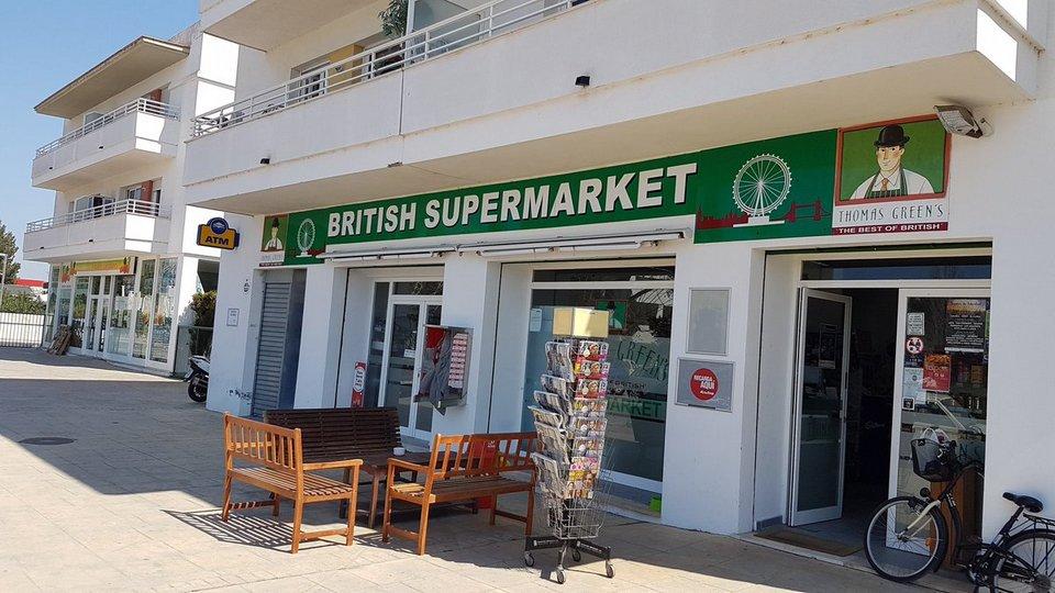 bristish supermarket ibiza