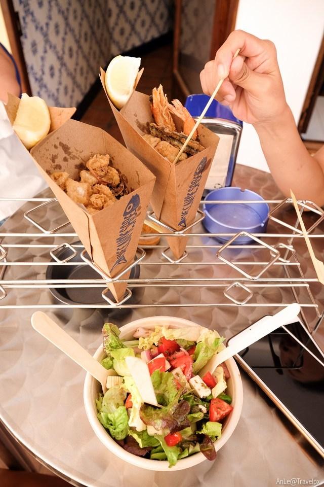 fast food at ibiza