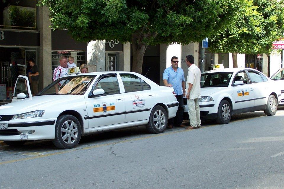 taxi in ibiza town