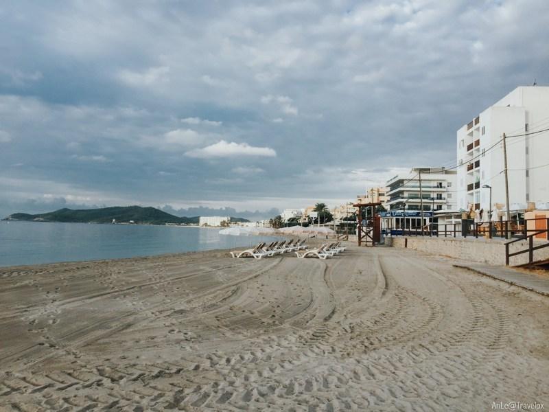 Beach in Platja d'en Bossa