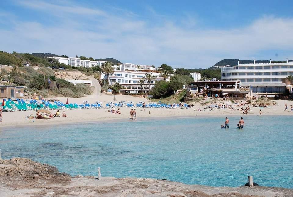 Cala-Tarida beach ibiza