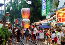drop lantern in shifen taipei trip itinerary,what to do in taipei for 4 days,taipei itinerary,4 days 3 nights in taipei