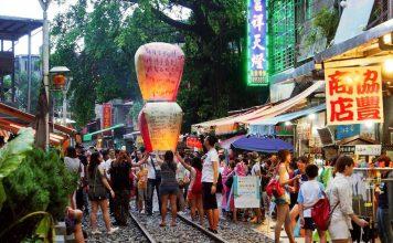 drop lantern in shifen taipei trip itinerary,what to do in taipei for 4 days,taipei itinerary,4 days 3 nights in taipei