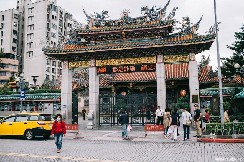 longshan temple taipei, wanhua, taipei itinerary 4 days blog,taipei recommended itinerary,taipei travel itinerary (1)