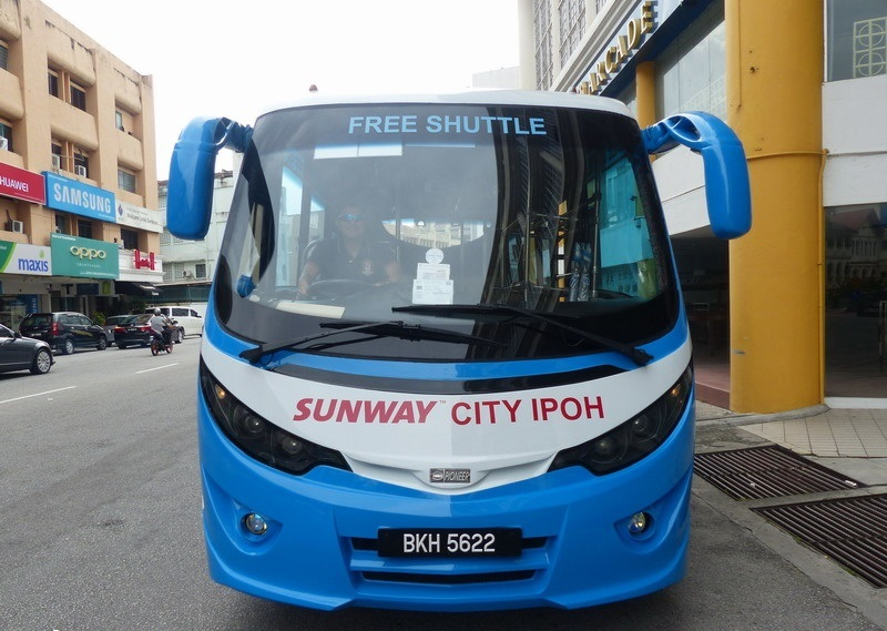 ipoh free shuttle bus