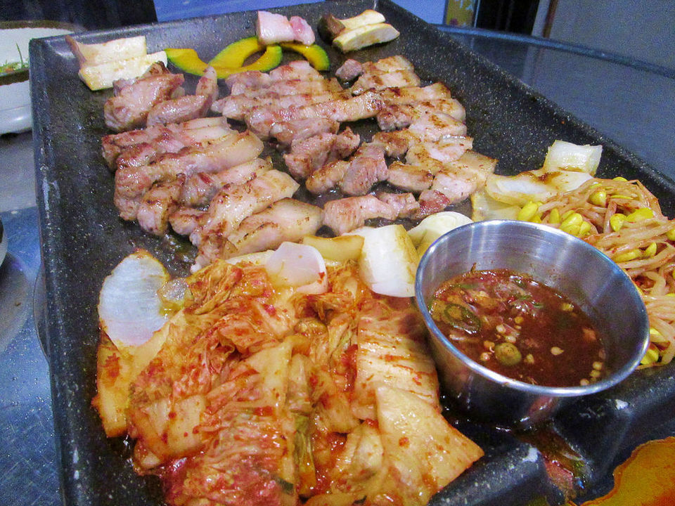 black pork jeju korea