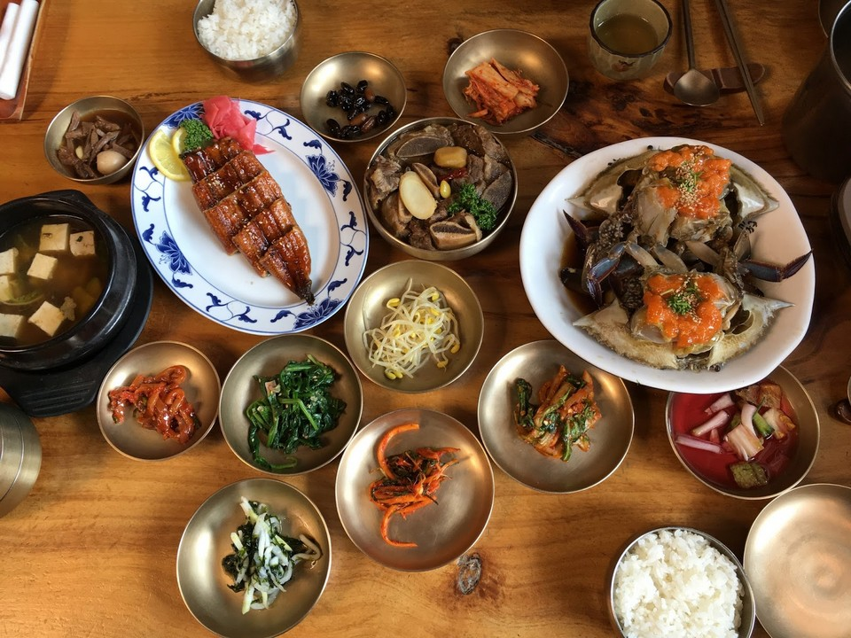 lunch at bukchon hanok