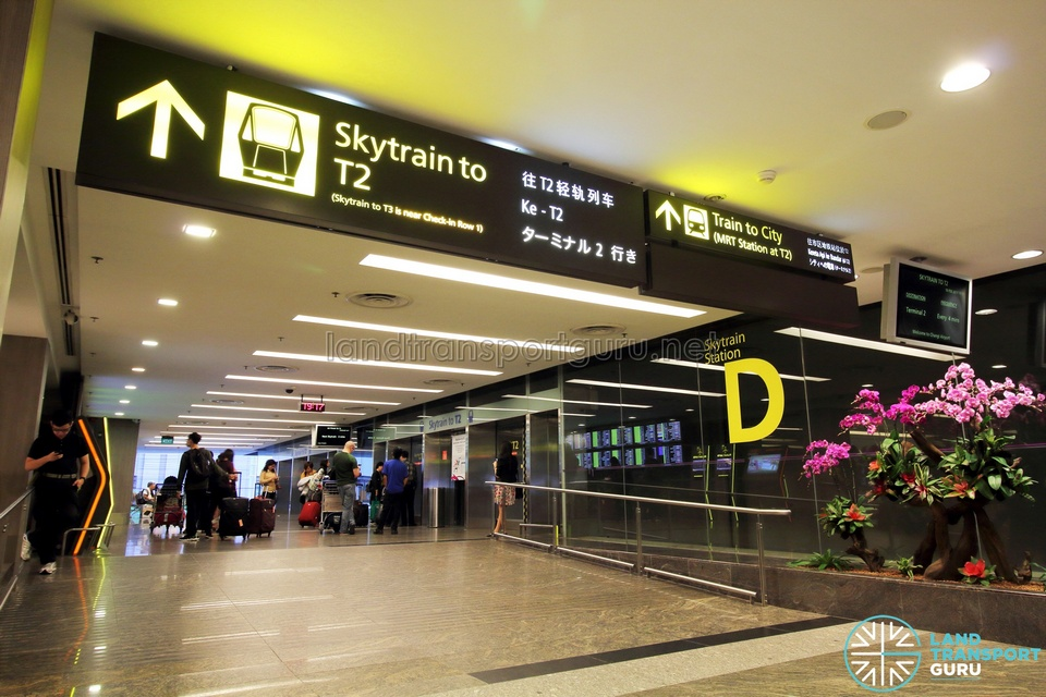 Changi-Airport-Skytrain-Public-Station-D public transport in singapore for tourists,singapore public transport system,transportation in singapore for tourists