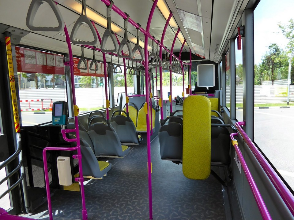 Inside the public bus singapore