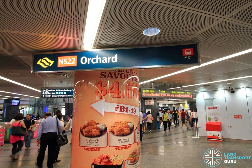Orchard MRT Station