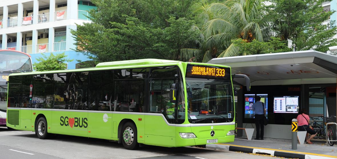 bus 333 to jurrong bird park