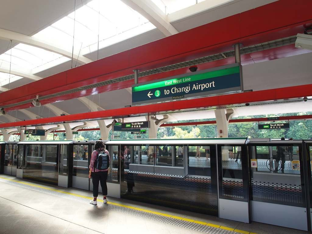 east west line to changi airport