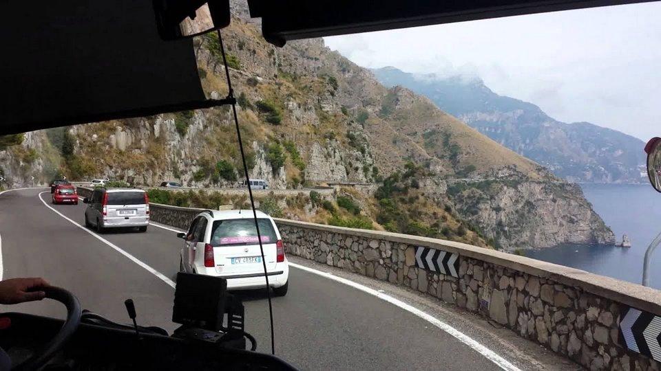 SITA bus from Sorrento to Positano