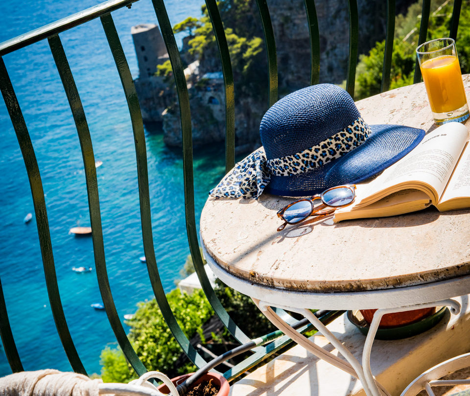Your private terrace Pensione Maria Luisa