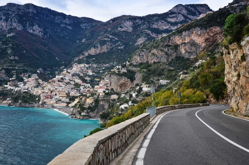 road to lead positano