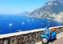 vespa tour in positano (1)