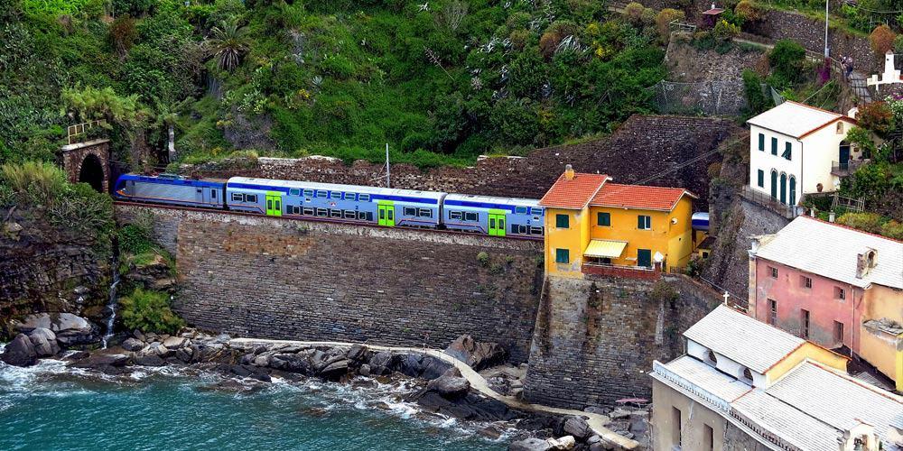 Cinque Terre Train Travel