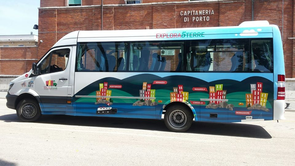 Explora 5 Terre a new bus service to visit the Cinque Terre
