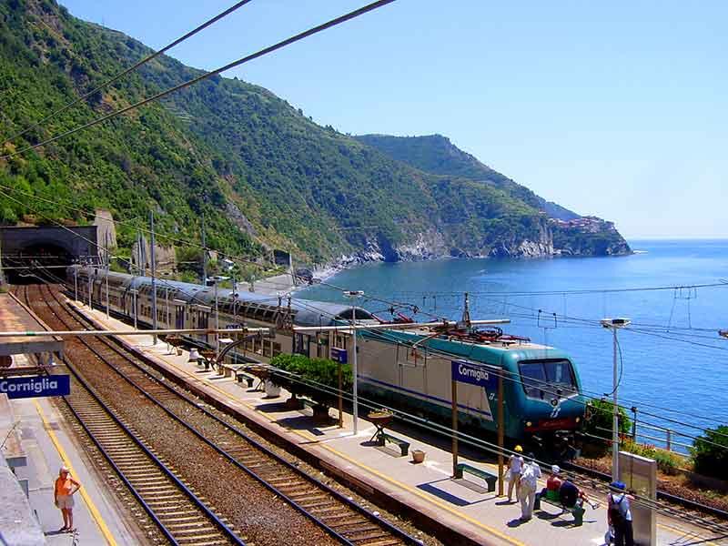 Corniglia Train Station
