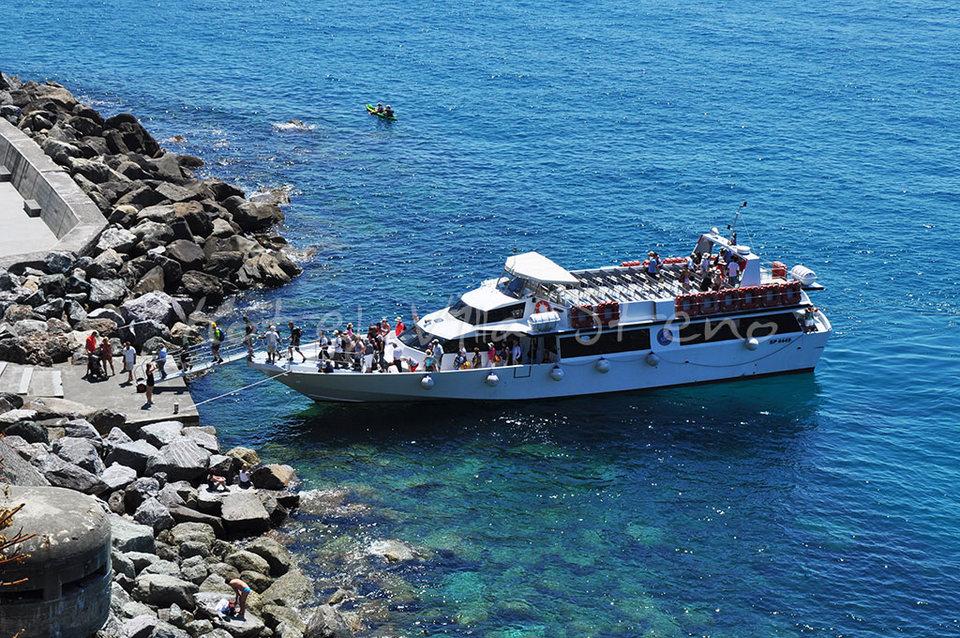 Ferry boat - Monterosso al Mare Cinque Terre Liguria Italy