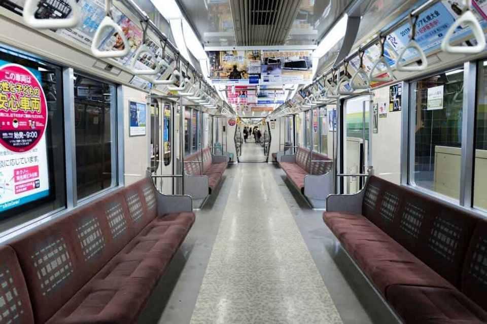 inside sapporo subway