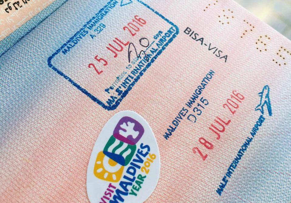 Maldives-Visa-Sticker