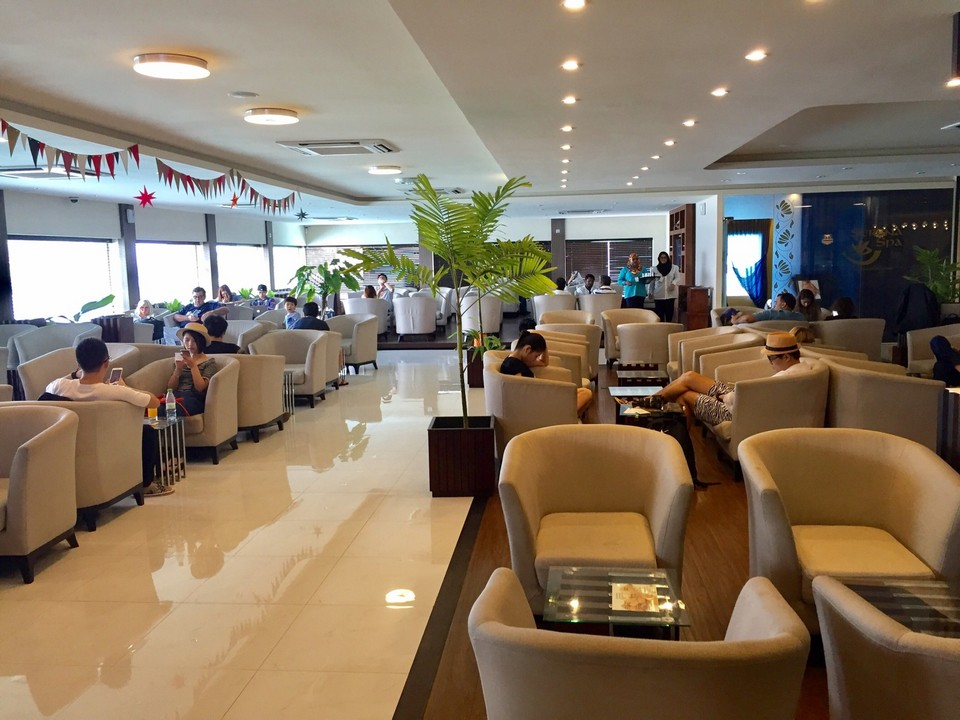 Velana International Airport lounge
