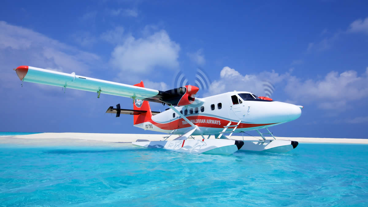 Seaplanes are probably the first to see for many tourists, the feeling of excitement when fly from the sea.
