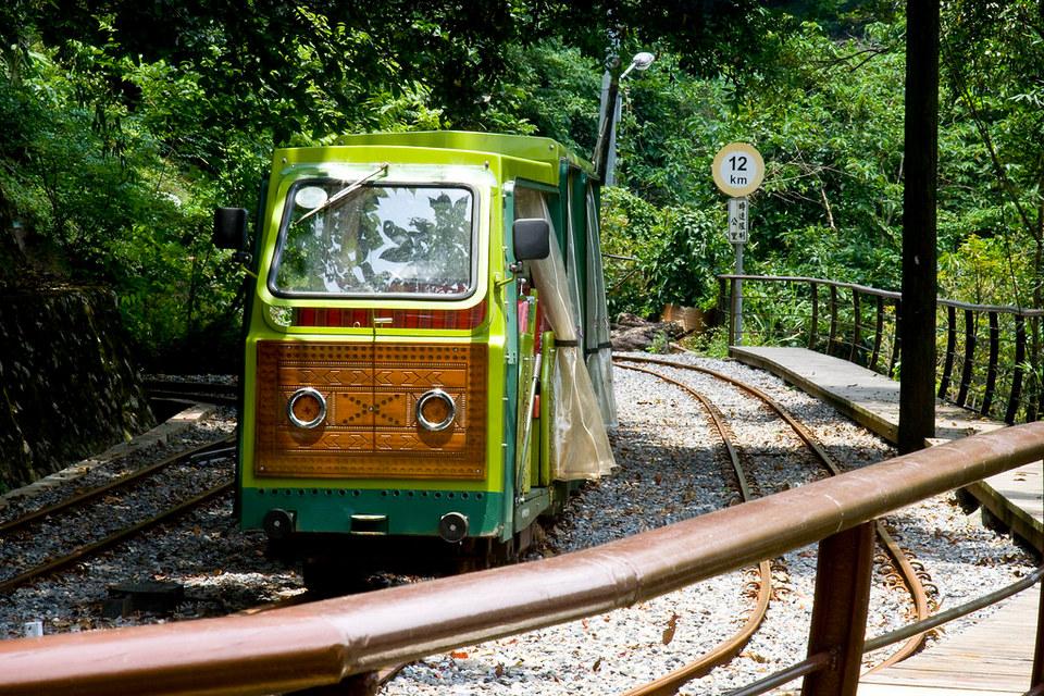 Cute Wulai Log Cart