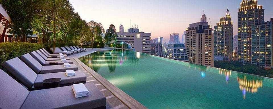Infinity Pool, Park Hyatt Hotel, Bangkok