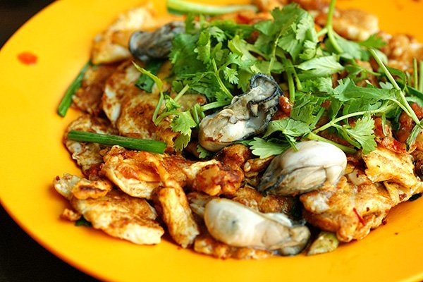 Oyster omelette kuala lumpur
