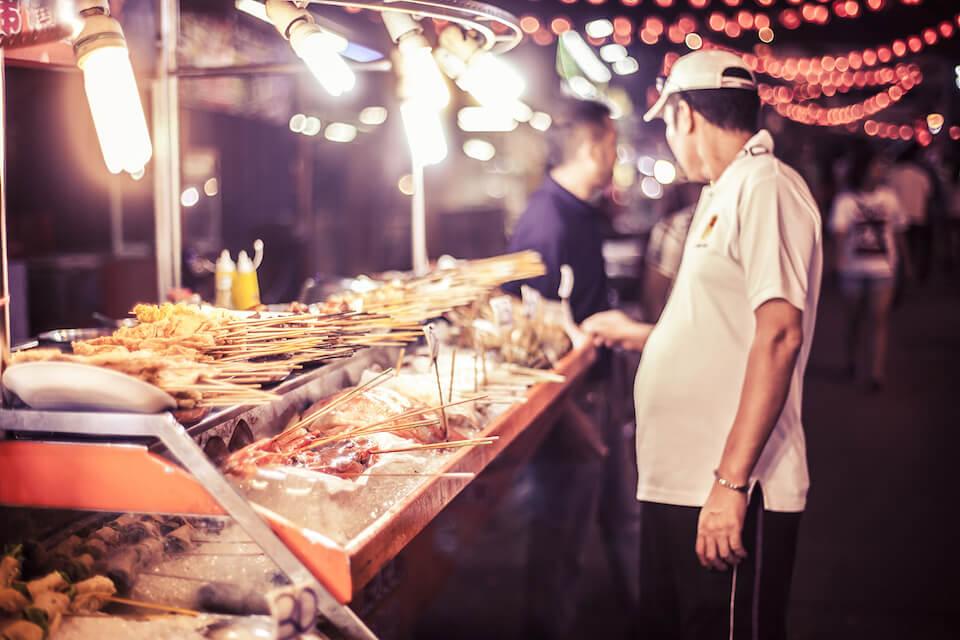 Street food Kuala Lumpur Malaysia | what to eat in kl