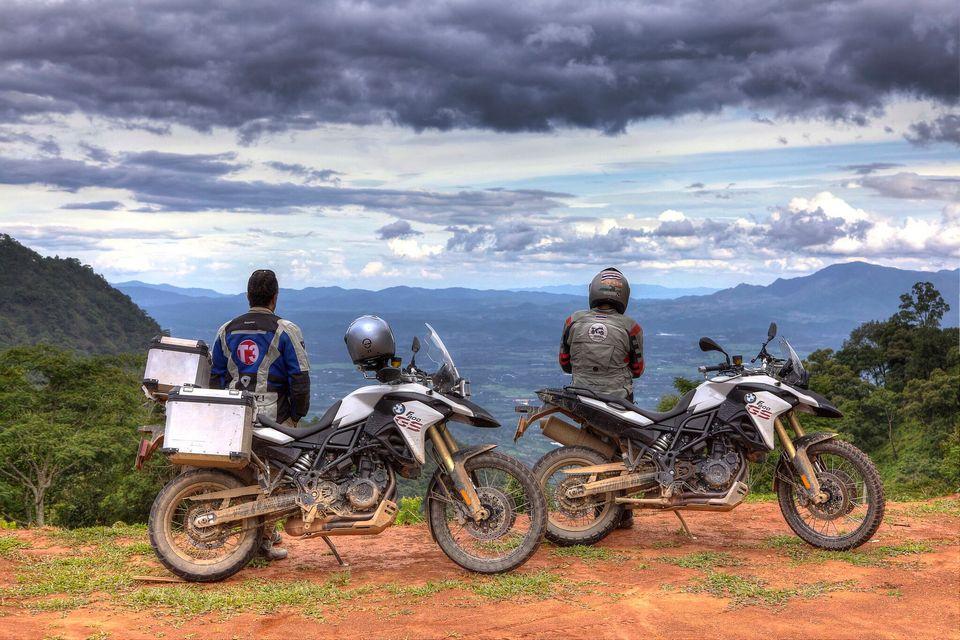 Kanchanaburi motorbike