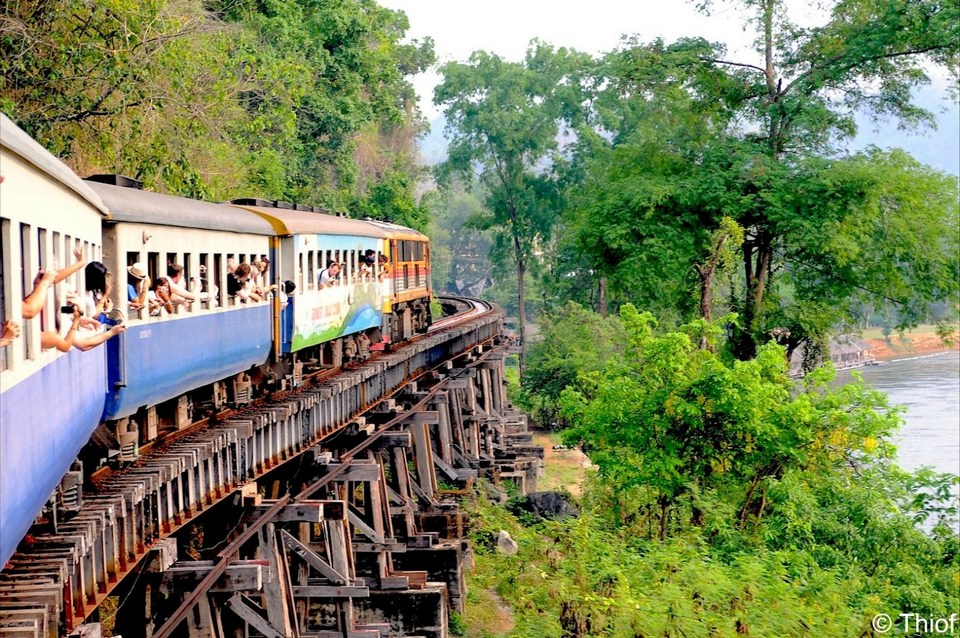the death railway train ride