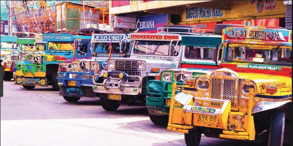 colorful jeepneys in cebu