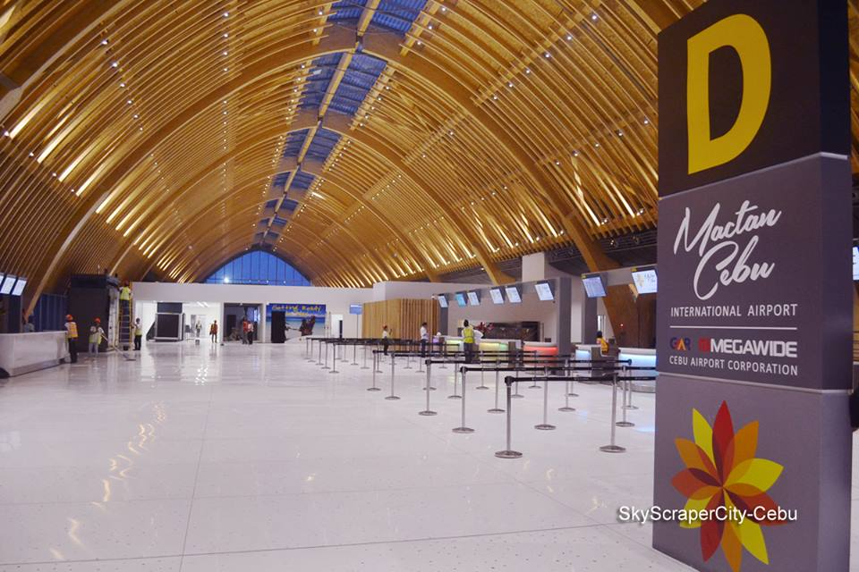 inside Mactan-Cebu International Airport