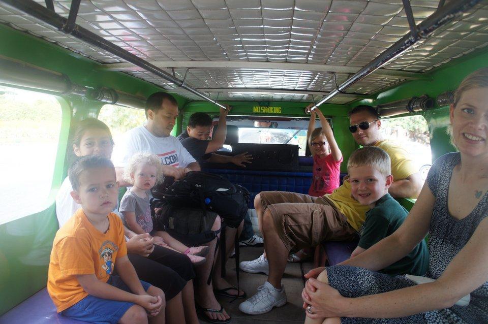 inside jeepney-group